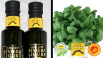 Olio Extravergine Riviera Ligure DOP e Basilico Genovese DOP insieme per promuovere la qualità