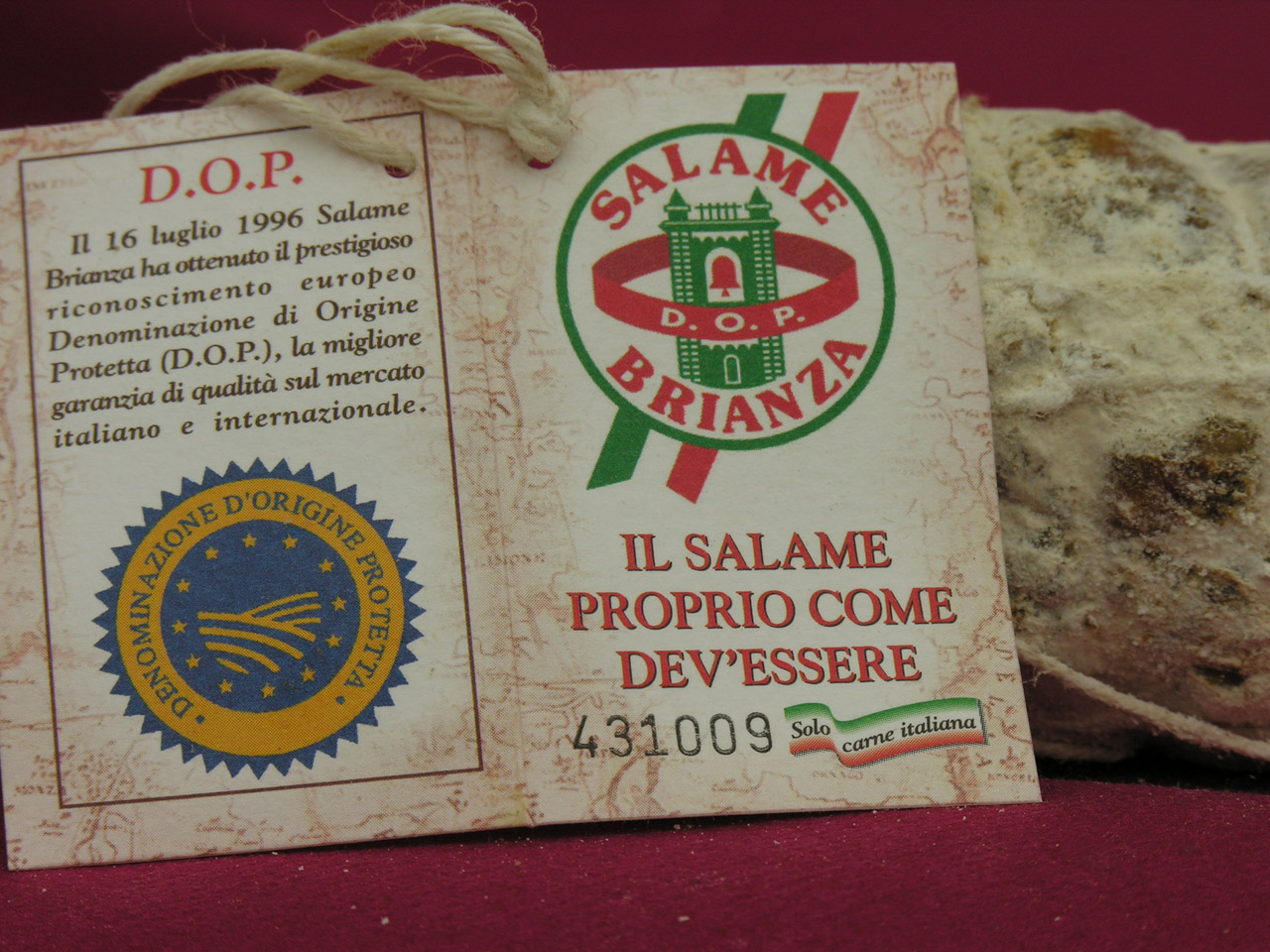 Salame Brianza DOP foto-3