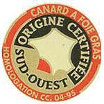 Canard à foie gras du Sud-Ouest (Chalosse, Gascogne, Gers, Landes, Périgord, Quercy) IGP