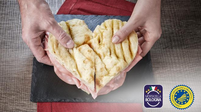 La Mortadella Bologna IGP celebra San Valentino con una campagna ad hoc