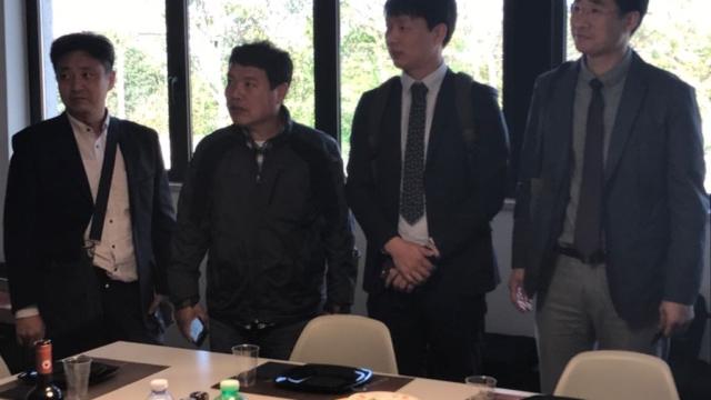 Delegazione Corea del Sud  2017