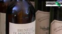 Online etichette false sulle bottiglie di Brunello di Montalcino