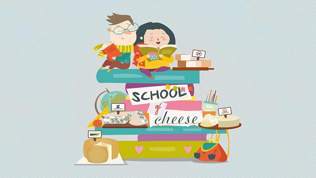 """Al via """"School of Cheese""""  il contest creativo che  porta in classe quattro DOP e forma i consumatori di domani."""