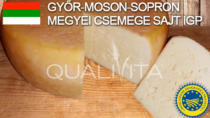 Registrato il formaggio Győr-Moson-Sopron megyei Csemege sajt IGP. Sono 17 le IG food ungheresi