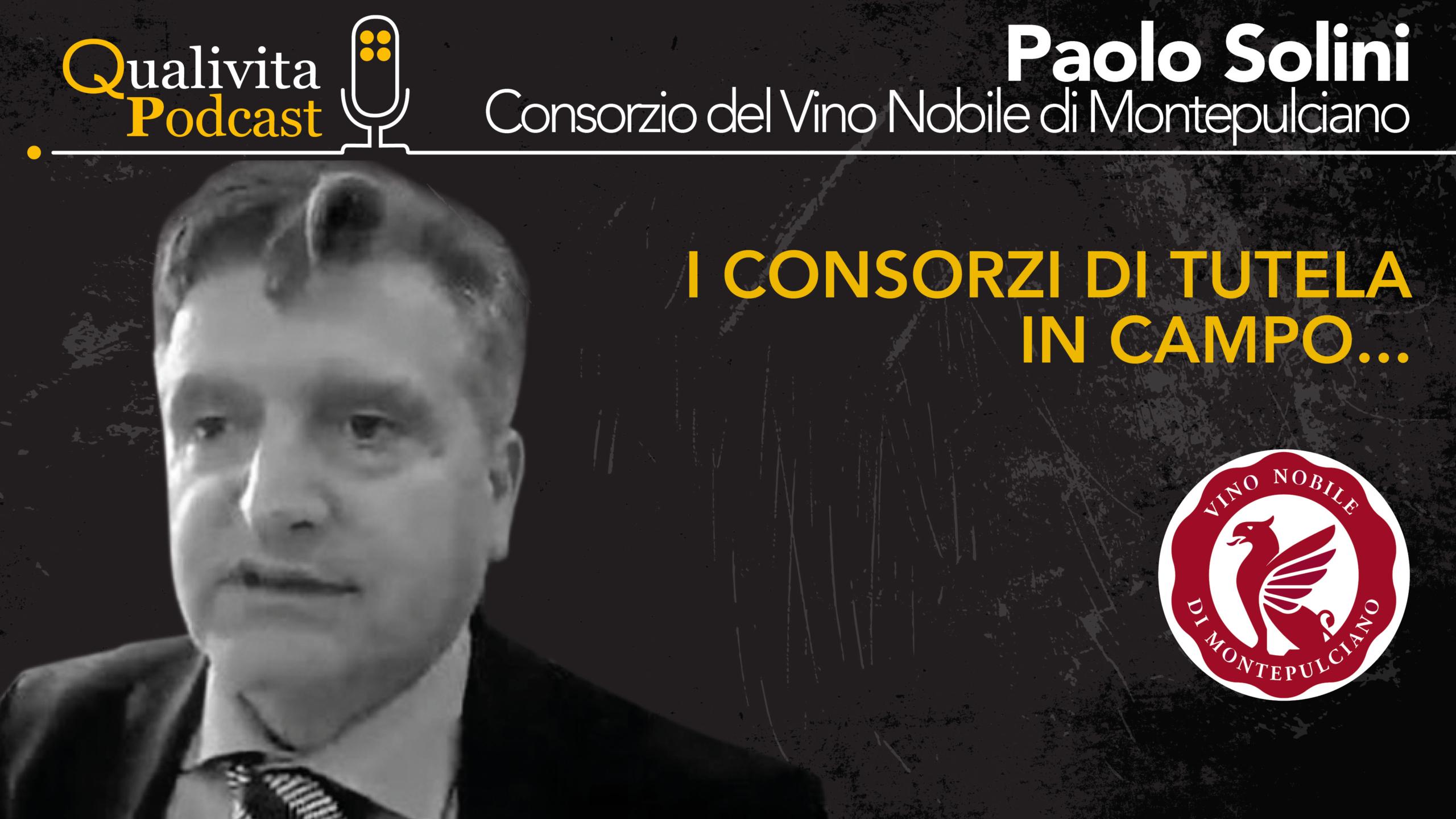 Paolo Solini, Consorzio Vino Nobile di Montepulciano