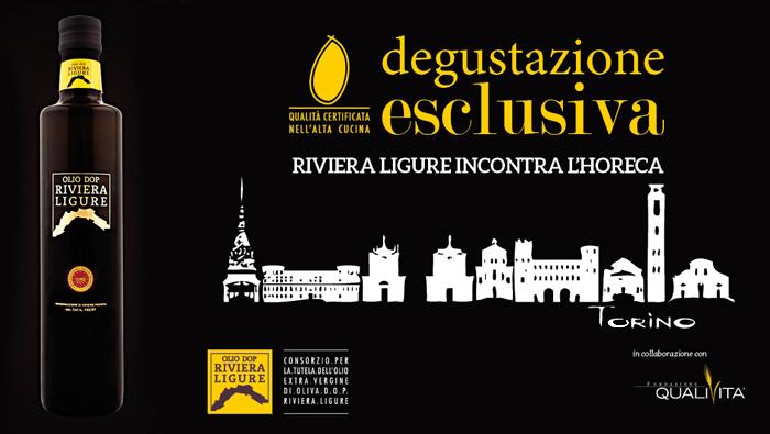 Il Consorzio Olio Riviera Ligure DOP e Qualivita incontrano l'alta ristorazione di Torino