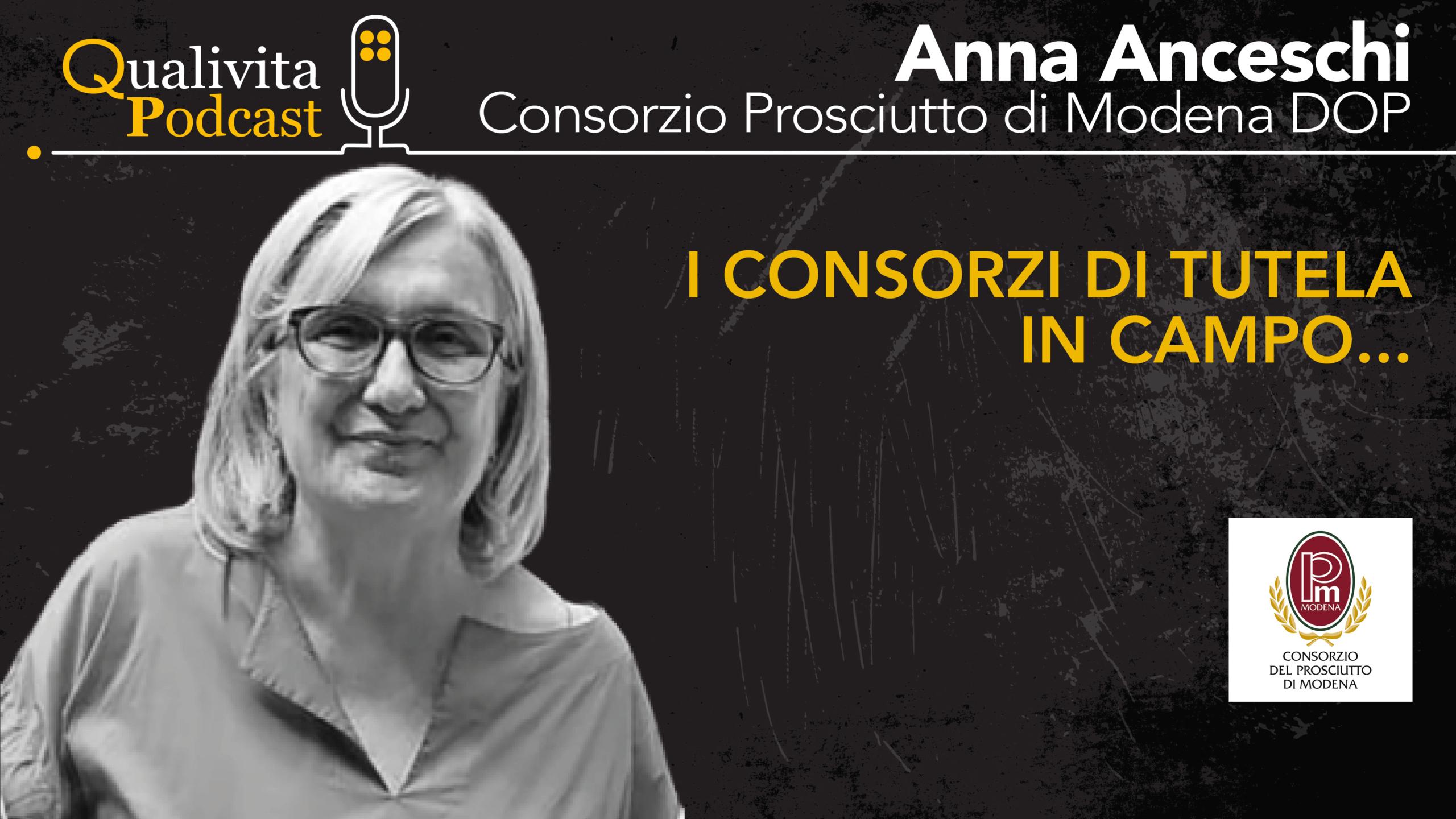 Anna Anceschi, Consorzio Prosciutto di Modena DOP