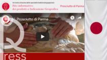 Foodex, online il portale italiano delle IG giapponesi con il Prosciutto di Parma DOP