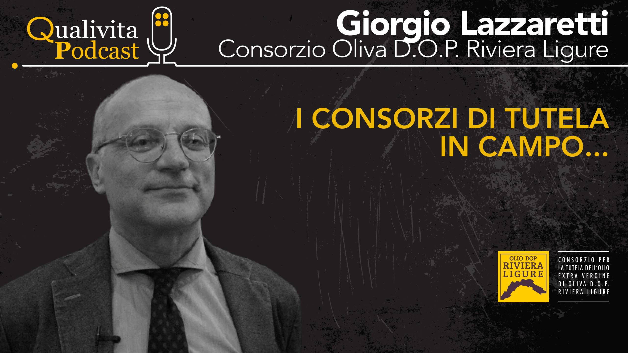 Giorgio Lazzaretti, Consorzio di tutela Olio Riviera Ligure DOP