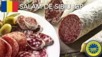 Salam de Sibiu IGP – Romania