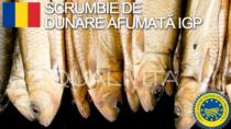 Scrumbie de Dunăre afumată IGP - Romania