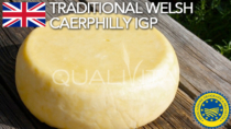 Traditional Welsh Caerphilly IGP - Regno Unito