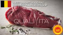 Vlees van het rood ras van West-Vlaanderen DOP - Belgio