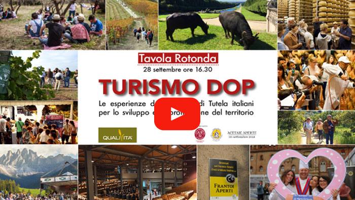 """VIDEO - Tavola Rotonda """"Turismo DOP"""": i Consorzi italiani e la promozione dei servizi turistici"""