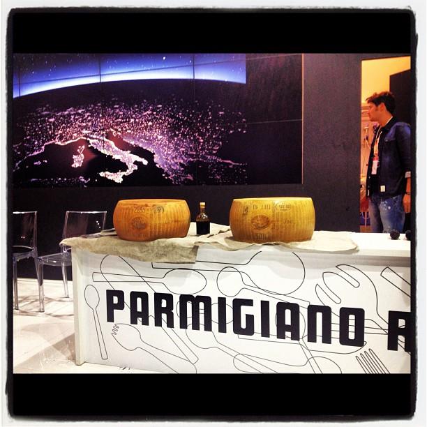Aceto Balsamico DOP e Parmigiano Reggiano DOP al Salone del Gusto