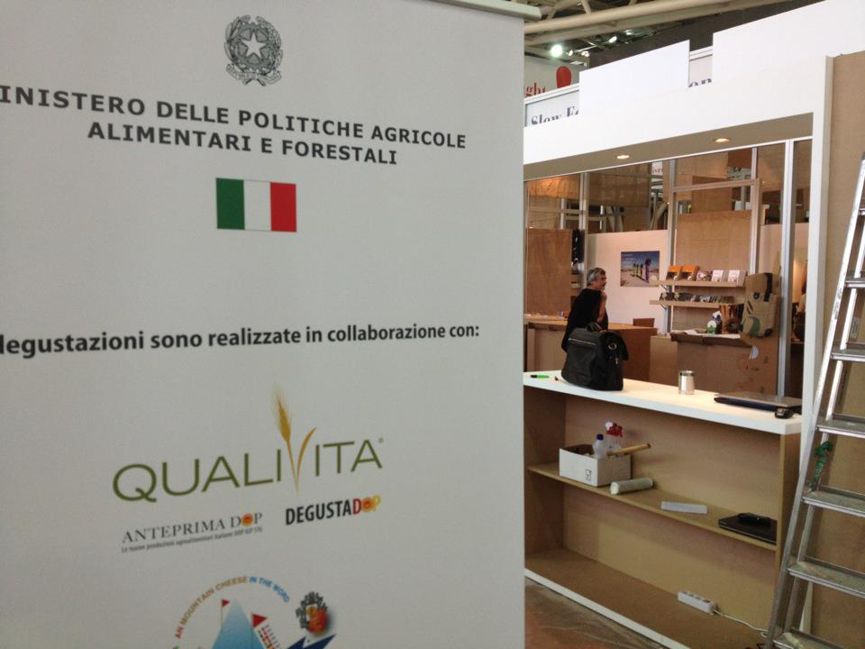Area MIPAAF in allestimento