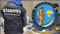 """Comando Carabinieri per la Tutela Agroalimentare: operazione """"Scarlatto quattro"""""""