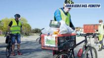 Consorzio Asparago Bianco di Bassano DOP: il servizio biker ha salvato un