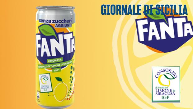 Trasformati e IG, il Limone di Siracusa IGP nella limonata Fanta