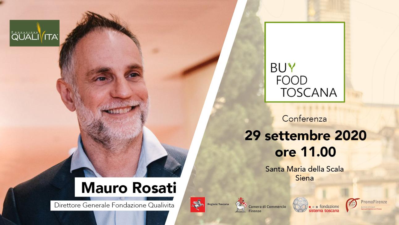 BuyFood Toscana: Qualivita con la Regione Toscana per promuovere DOP IGP
