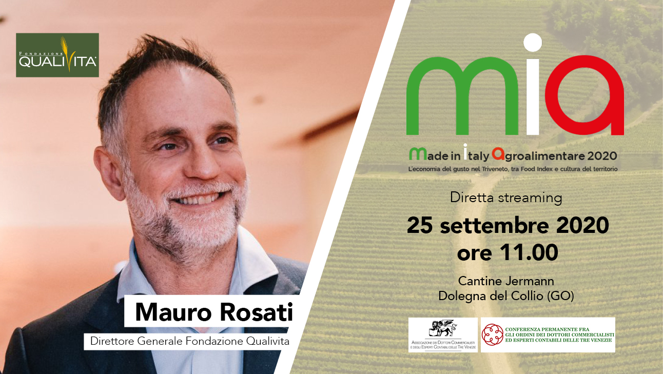 "Qualivita interviene a ""MIA - Made in Italy Agroalimentare 2020"""