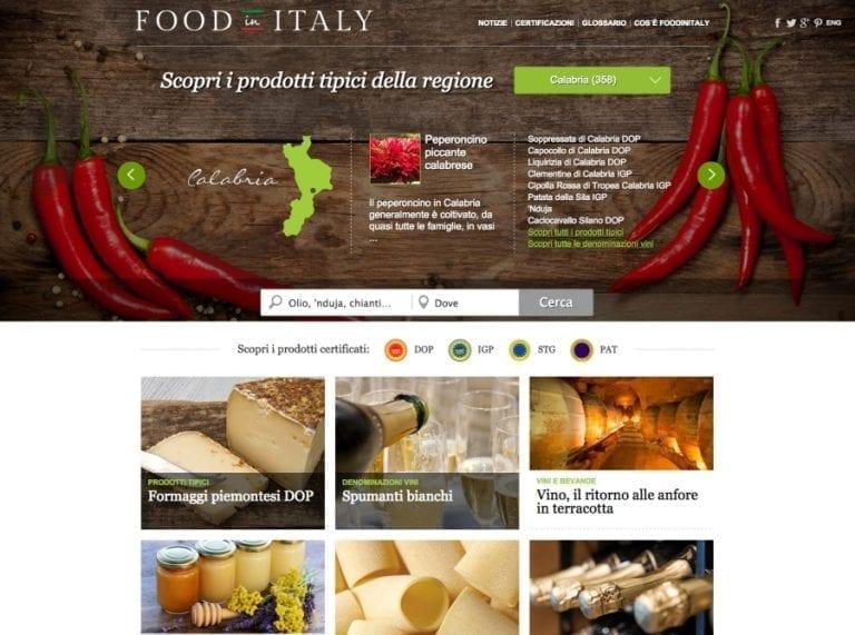 TML FOOD IN ITALY