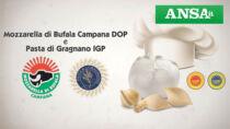Mozzarella di Bufala Campana DOP e Pasta di Gragnano IGP insieme in web serie