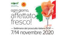 Settimana del Prosciutto italiano DOP: dal 7 al 14 novembre