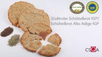 Dal 2021 produzione certificata dello Schüttelbrot Alto Adige IGP