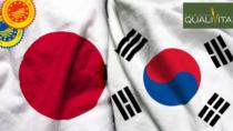 Accordi bilaterali, DOP IGP italiane protette in Giappone e Corea del Sud nel 2021