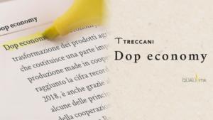 Dop economy Treccani