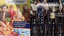 Italian Sounding in Lettonia. Pubblicità con sosia Maneskin promuove finta mozzarella italiana