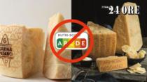 Nutriscore, Grana Padano DOP e Parmigiano Reggiano DOP al boicottaggio: il ministero li sostiene