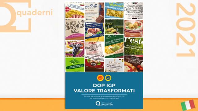 DOP IGP valore trasformati - Quaderni