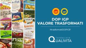 DOP IGP valore trasformati