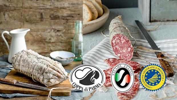 Coppa di Parma IGP e Salame Felino IGP